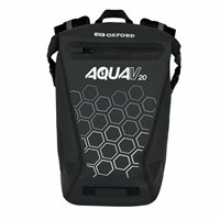 Oxford AquaV20 Back Pack Black (20 Litre Capacity)