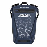Oxford AquaV20 Back Pack Navy (20 Litre Capacity)