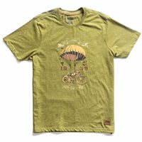 Royal Enfield Flying Flea T-Shirt (Olive)