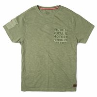 Royal Enfield Shades Of Summer T-Shirt (Olive)