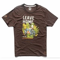 Royal Enfield Leave Home T-Shirt (Brown)
