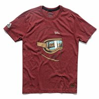 Royal Enfield Hills Are Calling T-Shirt (Red)