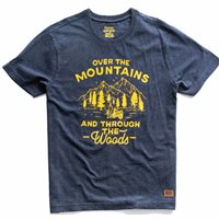 Royal Enfield Over The Mountains T-Shirt (Navy)