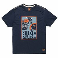 Royal Enfield Pure Ride T-Shirt (Navy)