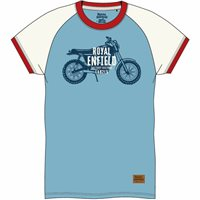 Royal Enfield Ride The Legacy T-Shirt (Air Blue)