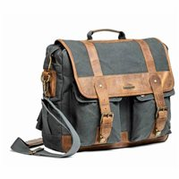 Royal Enfield Classic Messenger Bag (Grey)