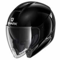 Shark CityCruiser Open Face Helmet (Black)