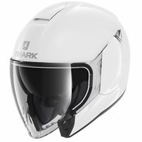 Shark CityCruiser Open Face Helmet (White)