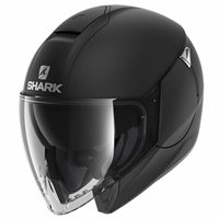 Shark CityCruiser Open Face Helmet (Matt Black)