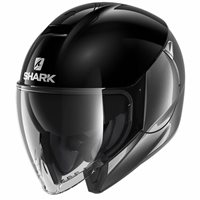 Shark CityCruiser Open Face Helmet (Duel Black/Anthracite)