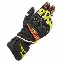 Alpinestars Gp Plus R V2 Motorcycle Glove (Flo Yellow/Red)