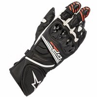 Alpinestars Gp Plus R V2 Motorcycle Glove (Black/White)