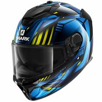 Shark Spartan GT Replikan Helmet (Blue/Yellow)