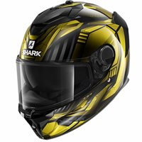 Shark Spartan GT Replikan Helmet (Gold/Black)