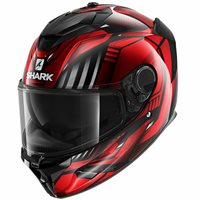 Shark Spartan GT Replikan Helmet (Red/Black)