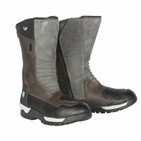 Spada Stelvio CE WP Motorcycle Boots (Grey/Brown)