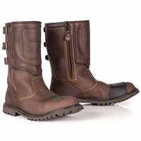 Spada Foundry CE WP Motorcycle Boots (Brown)