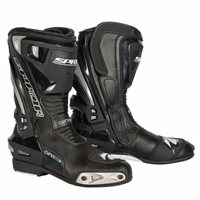 Spada Curve Evo WP Motorcycle Boots (Black/Grey)
