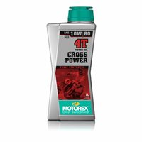 Motorex Cross Power 4T 10W/60 (4 Stroke) Oil 1 Litre