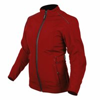 Spada Hairpin CE WP Ladies Textile Jacket (Boredeaux Red)