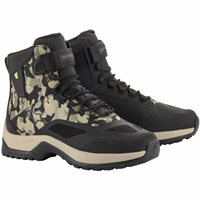 Alpinestars CR-6 Drystar Motorcycle Shoes (Military Green & Camo Sand)