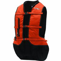 Helite Turtle Shell Motorcycle Airbag Vest (Orange)