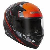 Spada Raiden Motorcycle Helmet (Camo Orange)