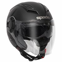 Spada Lycan Open Face Helmet (Matt Black)