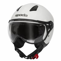 Spada Hellion Open Face Helmet (White)