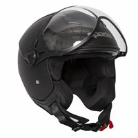 Spada Hellion Open Face Helmet (Matt Black)