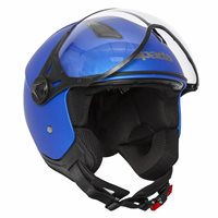 Spada Hellion Open Face Helmet (Matt Blue)