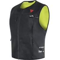 Dainese Smart Jacket (Black/Flo Yellow)