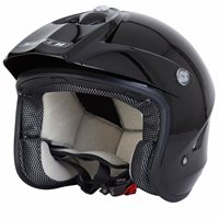 Spada Edge Open Face Trials Helmet (Black)