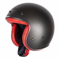 Spada Helmet Dark Star Carbon [Interior Red]