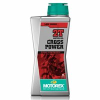 Motorex Cross Power 2T 10W/60 (2 Stroke) Oil 1 Litre