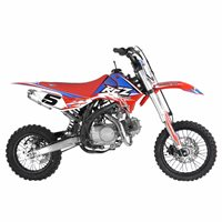 RFZ Racing  125cc Pitbike (Red)