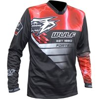 Wulfsport Forte Cub Race Shirts (Red)