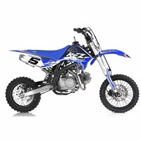 RFZ Racing  125cc Pitbike (Blue)