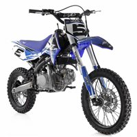 RFZ Racing  140cc Big Wheel Pitbike (Blue)
