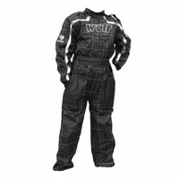 One Piece Kids Racing Suit (Black) by Wulfsport