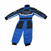 Wulfsport One Piece Kids Racing Suit (Blue)