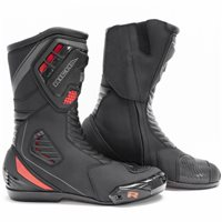 Richa Drift Evo Motorcycle Boots (Black/Grey/Red)