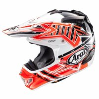 Arai MX-V Motocross Helmet - Star Orange
