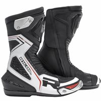 Richa Velocity Motorcycle Boots (Black/White)