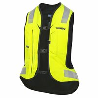 Helite E-Turtle Air Airbag Vest (Hi Viz) & Sensor Kit