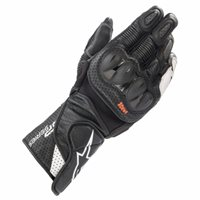 Alpinestars SP-2 v3 Motorcycle Gloves (Black/White)