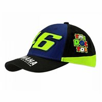 VR46 Kids Cap Racing Blue Royal Yamaha