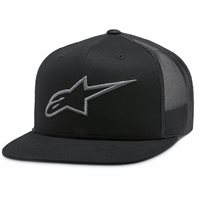 Alpinestars Corp Trucker Hat (Black/Charcoal)