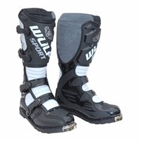 Wulfsport Orca Moto-X Boots (Black/White)