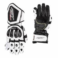 RST Tractech Evo 4 CE Motorcycle Gloves 2666 (White/Black)